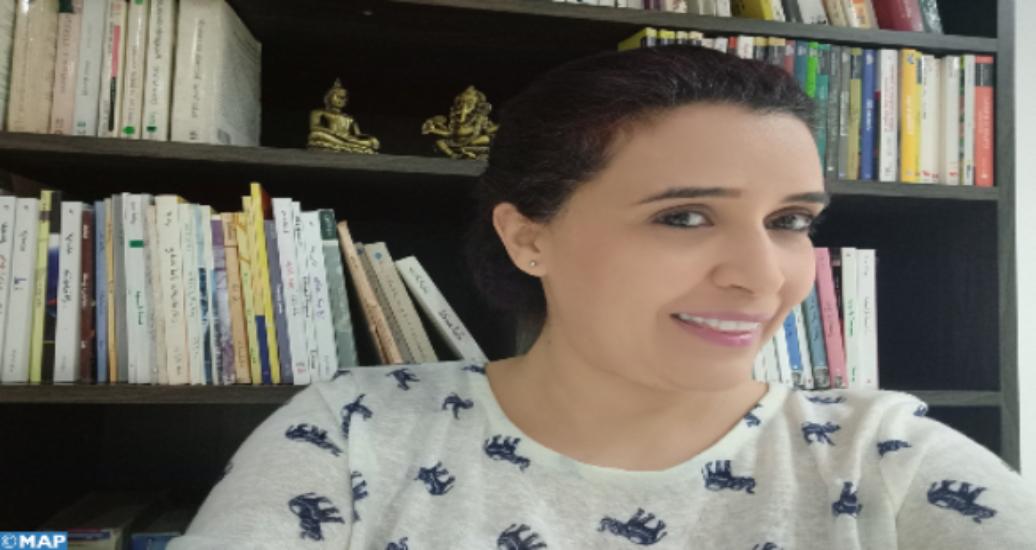 Ahlam Aboulamal ou la vie d'une Marocaine rythmée par l'art