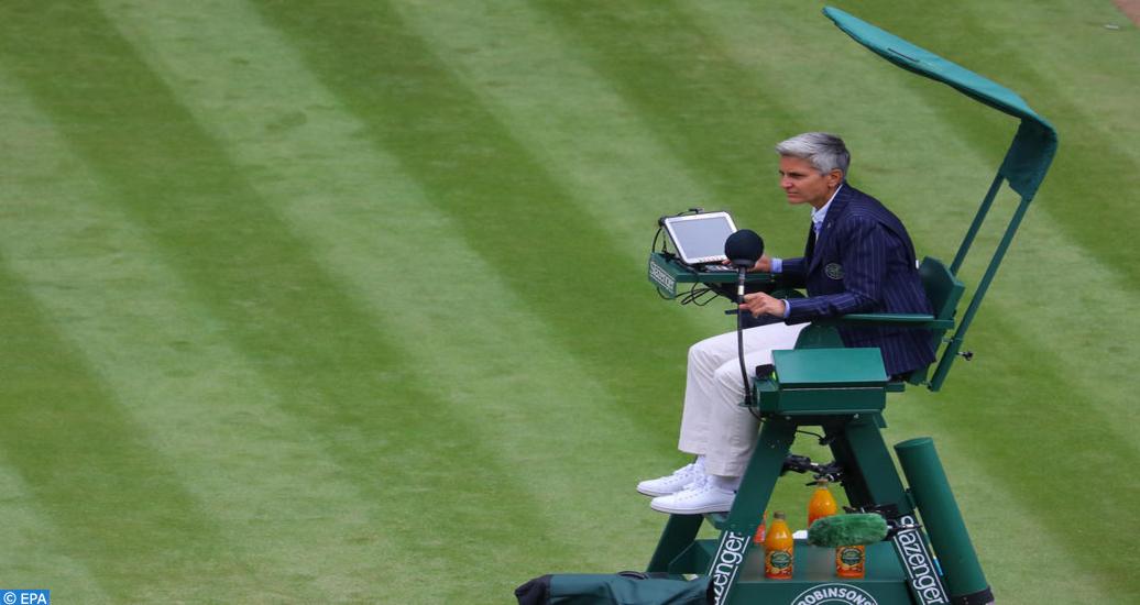Wimbledon: Marija Cicak, la première femme à officier la finale messieurs